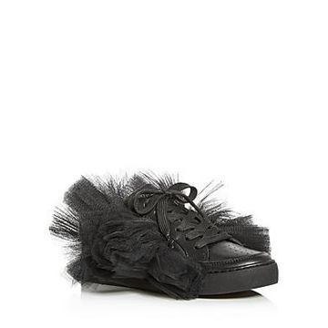 Joshua Sanders Women's Tulle Story Donna Low-Top Sneakers