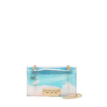 Earthette Small Glass PVC Chain Shoulder Bag