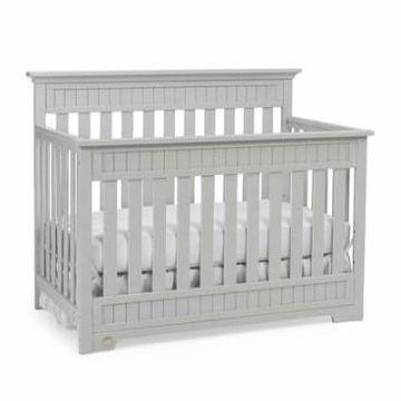 Fisher-Price Lakeland 5-in-1 Convertible Crib Gray