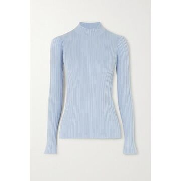 Acne Studios - Ribbed Cotton-blend Sweater - Sky blue