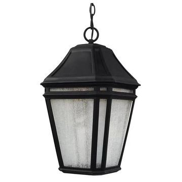 Feiss LED Outdoor Pendant, Black