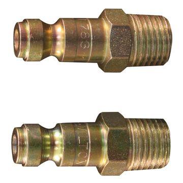 Milton 783BK 0.25 in. MNPT T Style Plug