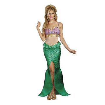 Dreamgirl Women's Sea Goddess Mermaid Costume