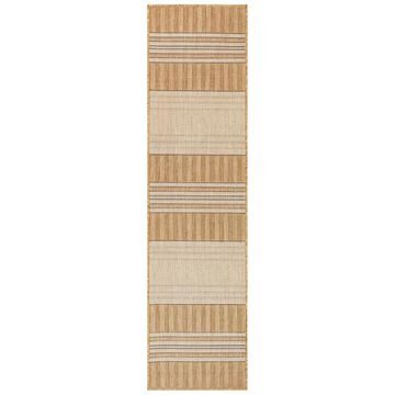 Liora Manne Carmel Stripe Indoor/Outdoor Rug (7'10