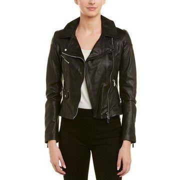 Karen Millen Womens Leather Jacket
