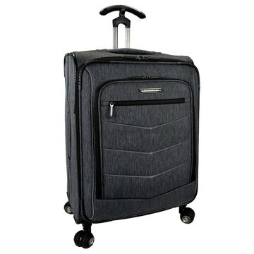 Traveler's Choice Silverwood 26-inch Expandable Spinner Upright Suitcase (Grey)
