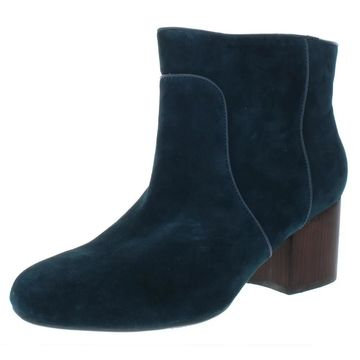 Aerosoles Womens Compatible Booties Suede Ankle