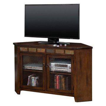 Santa Fe Corner TV Console