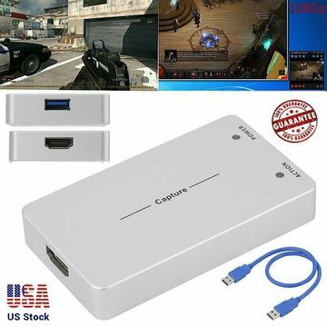 NEW HDMI 1080P HD Video Capture Box UHD Recorder Box For DVD PC XBOX PS3 PS4 MY