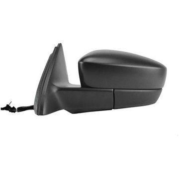 72532V - Fit System Driver Side Mirror for 12-14 Volkswagen GLI Sedan, 11-14 Jetta Sedan, 13-14 Jetta Hybrid, textured black, foldaway, Manual Remote