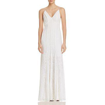 Keepsake Womens Dreamers Lace Mermaid Evening Dress