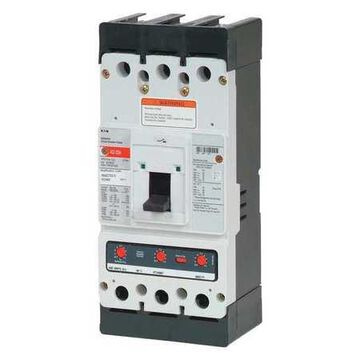 Molded Case Circuit Breaker, 300 A, 600V AC, 3 Pole, Free Standing Mounting Style, KD Series
