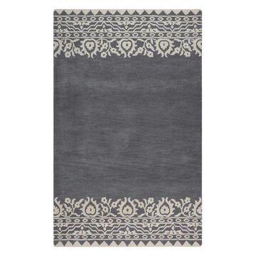 Contemporary Gray Rug, 9'x12', Marianna Fields MF090A