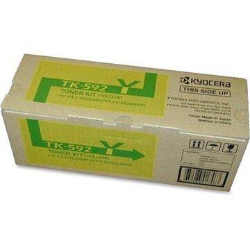 Kyocera, KYOTK592Y, FS-2026MFP Toner Cartridge, 1 Each