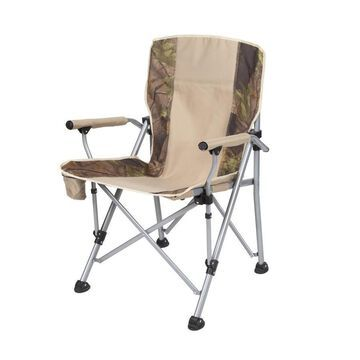 Stansport Brian Folding Camping Chair Polyester in Brown