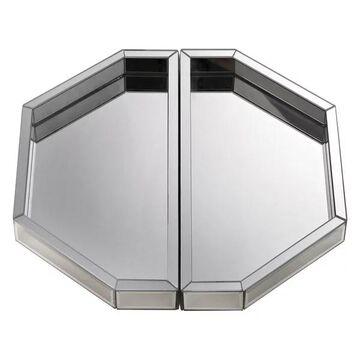 Dimond Home Mirrored Trays, 2-Piece Set