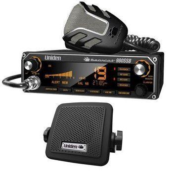 Uniden BEARCAT 980SSB CB Radio with SSB & BC7 Accessory CB/Scanner Speaker
