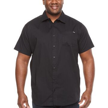 Zoo York Mens Short Sleeve Button-Front Shirt Big and Tall