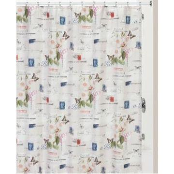 Creative Bath Botanical Diary Shower Curtain Bedding