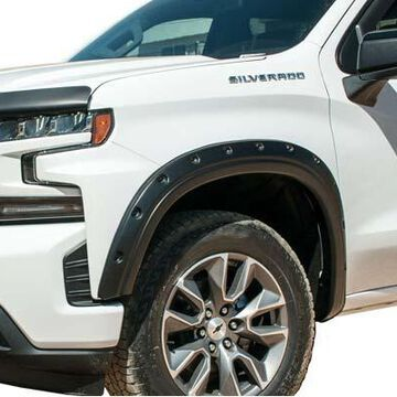 2019 GMC Canyon EGR Bolt-On Look Fender Flares, 4-Piece Complete Set