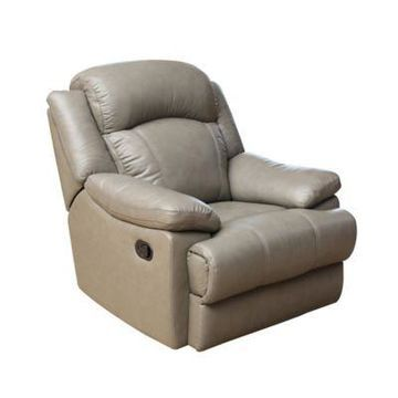 Abbyson Living Beverly Recliner in Grey