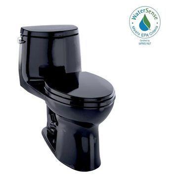 Toto UltraMax II 1-Piece Elongated 1.28 GPF Toilet, Ebony Black