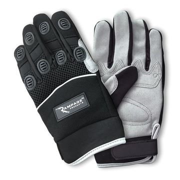 Rampage 86644 Recovery Gloves; Black;