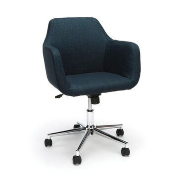 Upholstered Adjustable Home Office Chair with Wheels - OFM