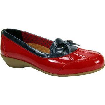 Beacon Shoes Women's Rainy Red Patent