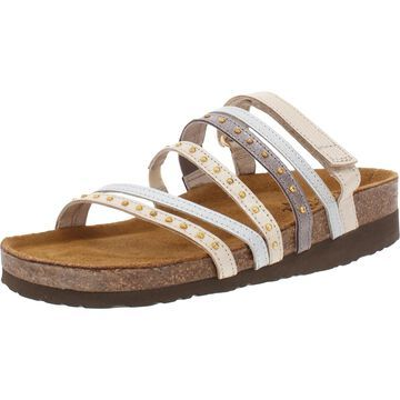 Naot Prescott Women's Strappy Studded Leather Slide Sandals