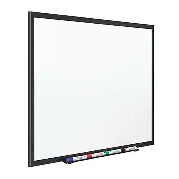 Quartet Premium DuraMax Porcelain Dry-Erase Whiteboard, Aluminum Frame, 5' x 3' ( 2545B )