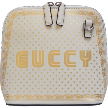Gucci Guccy minibag White Leather Handbags