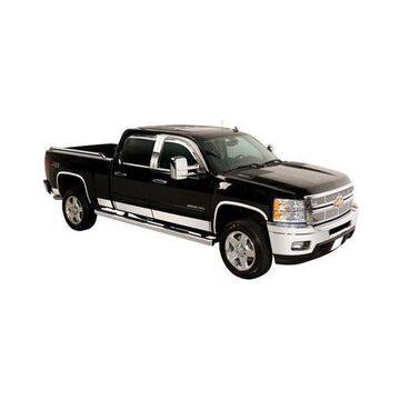 Putco 9751431 Rocker Panel Trim For Ford F-150, Polished