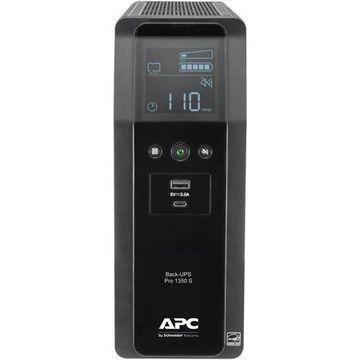 APC Sine Wave UPS Battery Backup & Surge Protector, 1350VA APC Back-UPS Pro (BR1350MS)