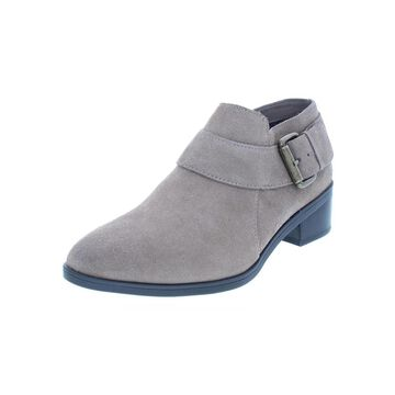 Bella Vita Womens Hadley Booties Suede Shooties