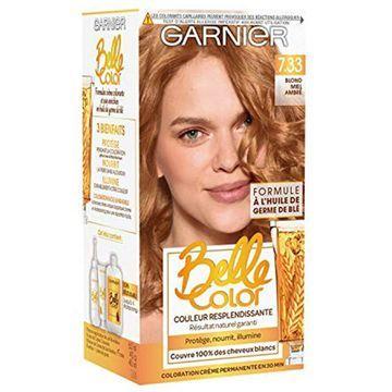 Garnier Belle Color ColorEase Creme, Honey Amber Blonde 7.33