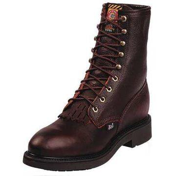 Size 7-1/2 Men's 8 Work Boot Steel Work boots, Brown