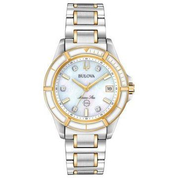 Bulova Women's Diamond Marine Star Watch