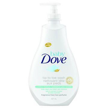 Baby Dove Tip to Toe Wash, Sensitive Moisture, 591 mL