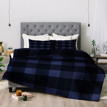 Deny Designs Plaid 3-Piece Comforter Set