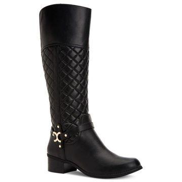 Charter Club Womens Helen Closed Toe Knee High Riding Boots