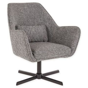 LumiSource Diana Lounge Chair in Grey