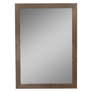 Legion Furniture Odette Mirror, Antique Coffee, 24