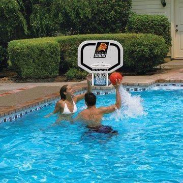 Poolmaster Phoenix Suns NBA Pro Rebounder-Style Poolside Basketball Game