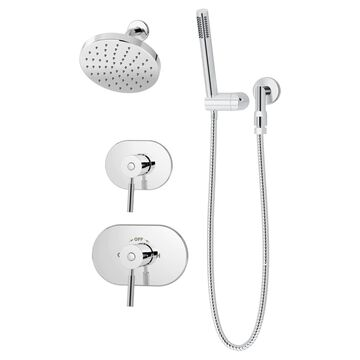 Symmons Sereno Polished Chrome 2-Handle Shower Faucet (Valve Not Included) Stainless Steel | 4305-1.5-TRM