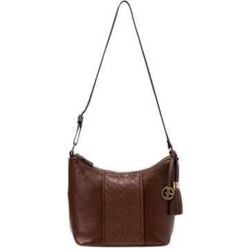 Giani Bernini Pebble Leather Weave Hobo, Created for Macy's