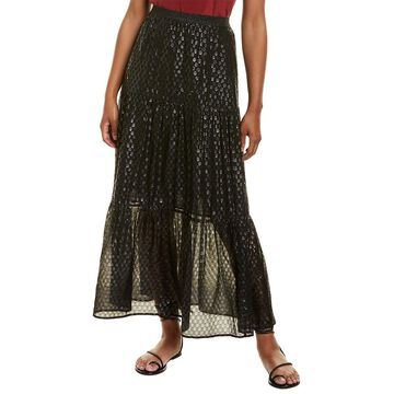 Johnny Was Pomuch Tiered Maxi Skirt