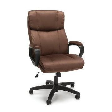 Plush High Back Microfiber Office Chair - OFM