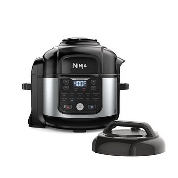 Ninja Foodi 6.5 Qt. 11-In-1 Pro Pressure Cooker + Air Fryer With Stainless Finish Black