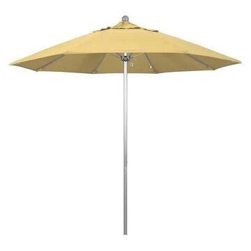 California Umbrella Venture 9' Silver Market Umbrella, Wheat